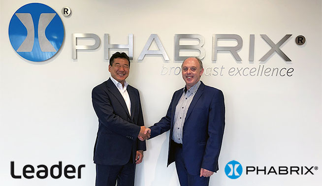 Leader Electronics acquires PHABRIX Ltd to create a global Test and Measurement force